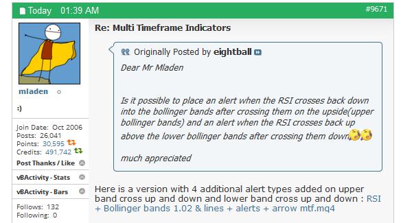 Mtf bollinger bands mq4